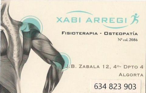 Xabi Arregi Fisioterapia y Osteopatia