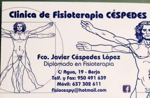Clinica de fisioterapia Cèspedes