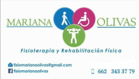 Fisioterapeuta Mariana Olivas