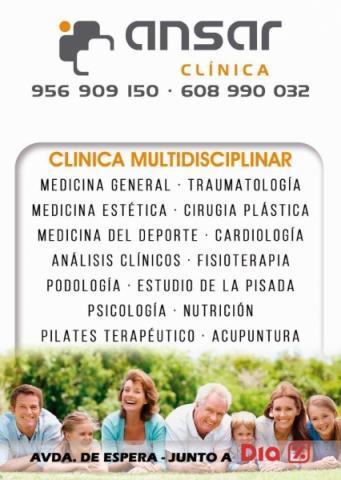 Clinica ansar jerez de la frontera efisioterapia for Clinica dental jerez de la frontera