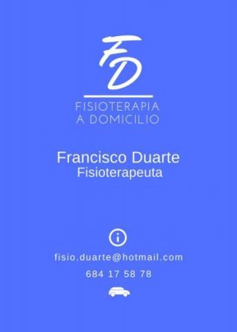 DOMFISIO Fisioterapia a Domicilio Tenerife, Francisco Duarte