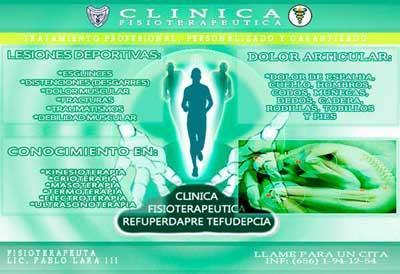 Clinica Fisioterapeutica Refuperdapre Tefudepcia