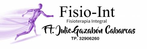 Fisio - Int, Julie Gazabón Cabarcas