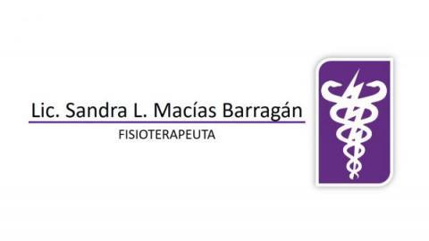 Fisioterapia y Rehabilitación Lic. Sandra Macías