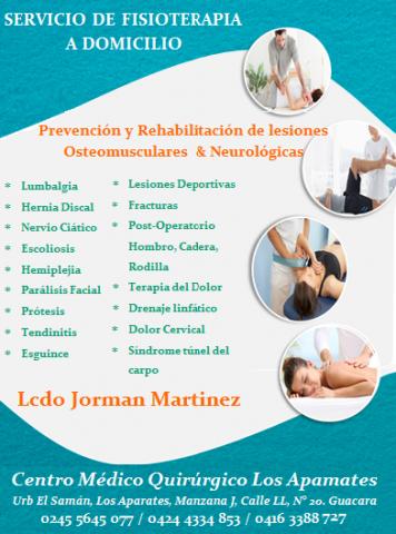Fisioterapeuta Jorman Martinez