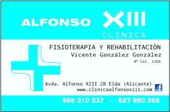 CLINICA ALFONSO XIII FISIOTERAPIA Y REHABILITACION FUNCIONAL