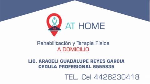 AT HOME Rehabilitacion a domicilio