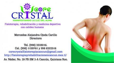 Core Crystal Fisioterapia y rehabilitacion