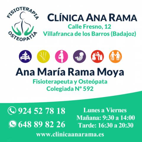 Clínica de Fisioterapia y Osteopatía Ana Rama